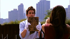 Neal Caffrey saved from gun wound by the Book of Hours
