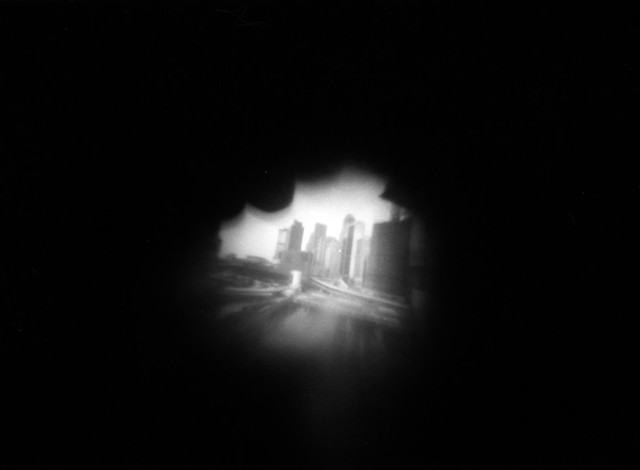 central pinhole photo