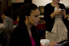 The laser-like focus of Melissa Harris-Perry d...