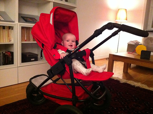 New pushchair is finally here!