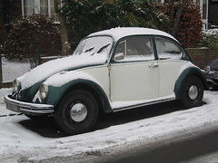 Snowy Bug (Z303) Tags: vw bug volkswagen beetle