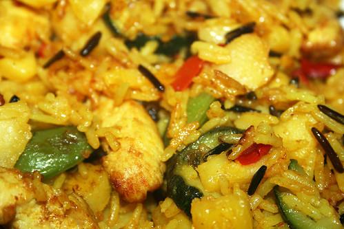 07 - Frosta Hähnchen Curry - CloseUp