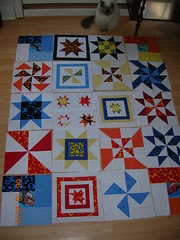 pinwheel/star quilt
