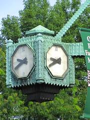 Marshall Field's Other Clock (Eridony) Tags: clock illinois downtown village historic suburb marshallfields oakpark cookcounty chicagoland marshallfield metrochicago nationalregisterofhistoricplaces nrhp suburbanchicago constructed1928