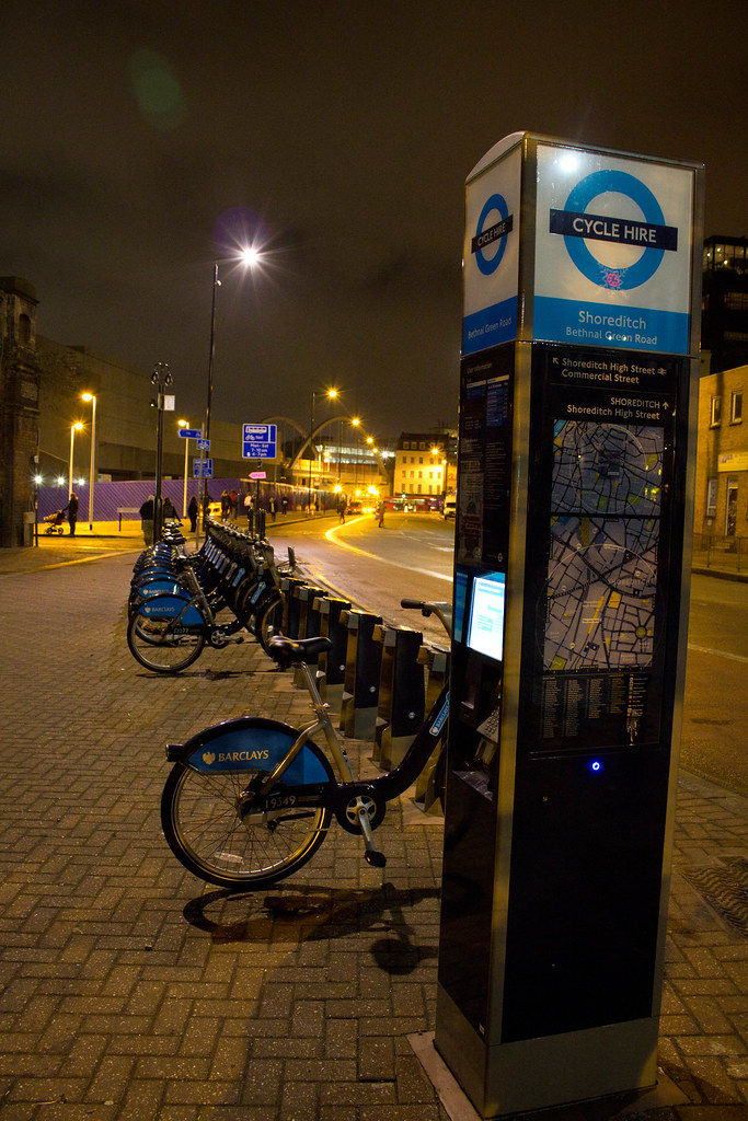 Cycle Hire at Shoreditch