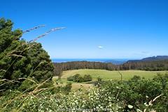 Green and Blue | Macquarie Pass National Park (Hadi Zaher) Tags: ocean park new blue sky green wales landscape coast highlands south pass australia lovers east southern national aussie macquarie aus wollongong robertson illawarra