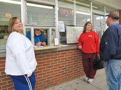 getting some yummy treats (birchloki) Tags: family ohio people edon dairytreat edonohio