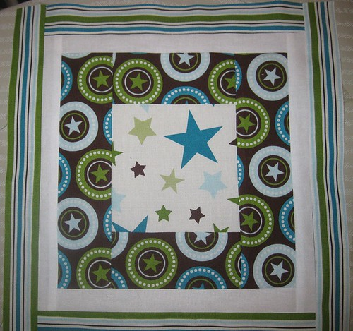 Block 2 for All Star 2 Bed Quilt