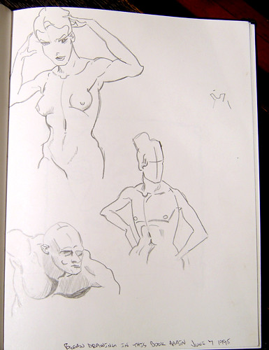 sketchbook #2 - 1998