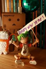 Happy new year! (K'farnam) Tags: newyear yotsuba danbo crazylabel treeson revoltech danboard 010110