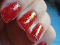 volúpia-risqué+flocado (Rafaela Oliveira) Tags: nail polish unha risqué esmalte flocado