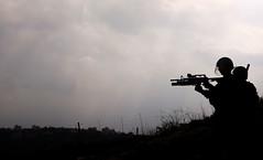 Recharge (Anemer) Tags: light sky soldier army death israel riot war gun palestine gas tear press journalist idf politic occupation iof