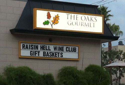 Raisin Hell Wine Club, The Oaks Gourmet, drollgirl