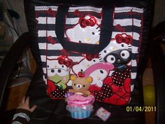 Japan LA Order ( Veronica ) Tags: japan hellokitty plush sanrio cupcake chococat totebag rilakkuma sanx mymelody kerropi loungefly