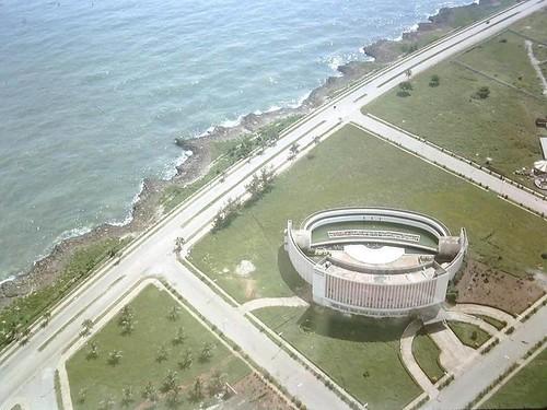 Vista Aerea de Santo Domingo en 1965