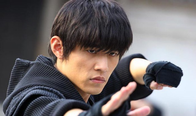 Jay Chou as Kato in the movie, The Green Hornet