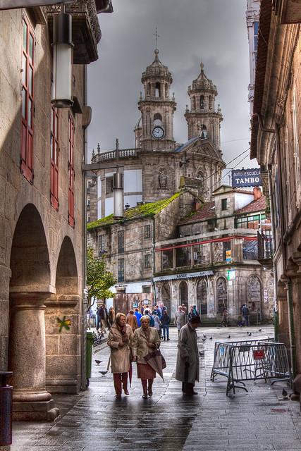 Calle de los Soportales.