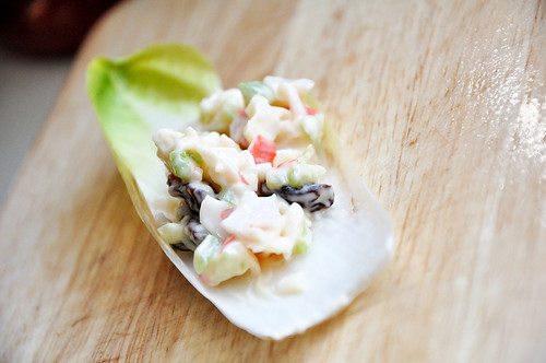 Crab Salad on Endive