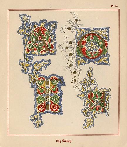 009- Medieval Alphabets and Initials 1886- F.G. Delamotte- Copyright 2006 illuminated-book.com& libros-iluminados.com