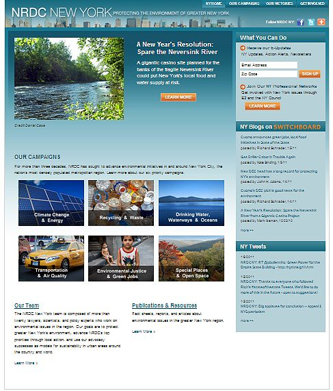NRDC's NYC home page