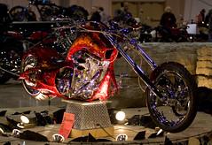 """Devil's Own"" Chopper (Phil Armishaw) Tags: copyright toronto bike chopper phil international motorcycle 2011 supershot supershow armishaw"