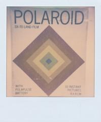 Polaroid (jakem) Tags: classic film polaroid saturday packaging push polaroidsx70 paulgiambarba px70 impossibleproject
