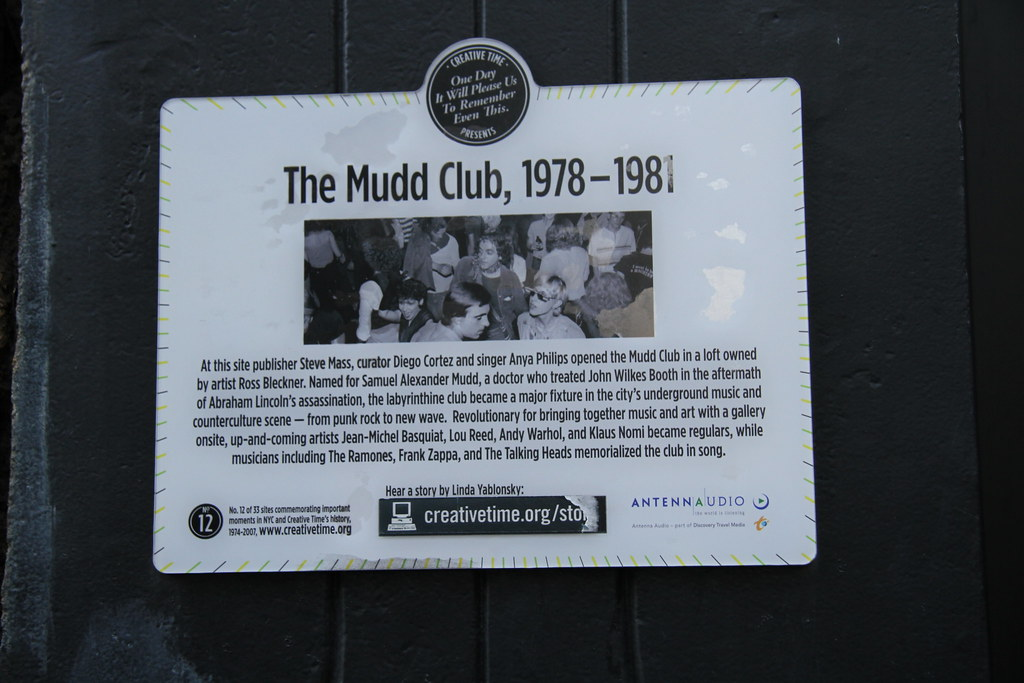 The Mudd Club Reunion October 28 2010