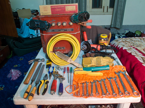 Welder and Other Tools