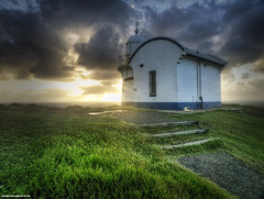 Tacking Point Lighthouse (Tim Sanusi) Tags: beach clouds sunrise nsw nd hdr rockybeach portmacquarie polariser lighthousebeach tackingpoint