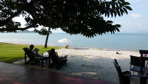 Koh samui Beachfront Cafe BAKUBUNG サムイ島カフェ (9)