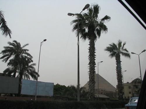 Visiting the Pyramids of Giza