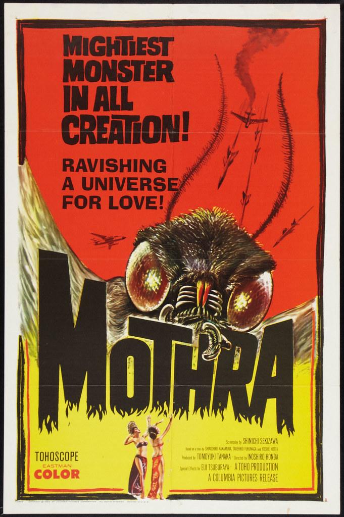 Mothra (Columbia, 1962)