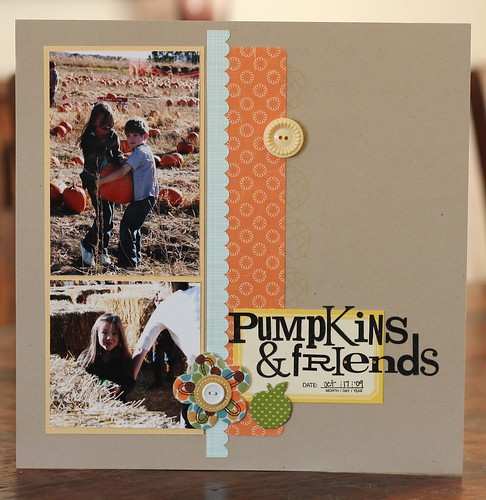 pumpkins and friends