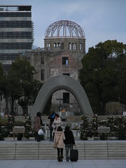 Hiroshima, Japan (Marc_P98) Tags: world park memorial war peace nuclear hiroshima flame weapon dome western uranium second cenotaph bomb atomic abomb honshu