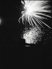 A New Year... (bildministeriet) Tags: bw film bulb night analog diy fireworks gothenburg handheld 6x9 ilfordxp2 boxcamera flippedlens svartvitt autaut newyear2011 agfageavertgevabox