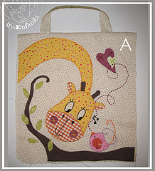 Girafa (Ateli Ma do Amor - By Carol Lidman) Tags: patchwork moldes patchcolagem coisasfofas tecdos