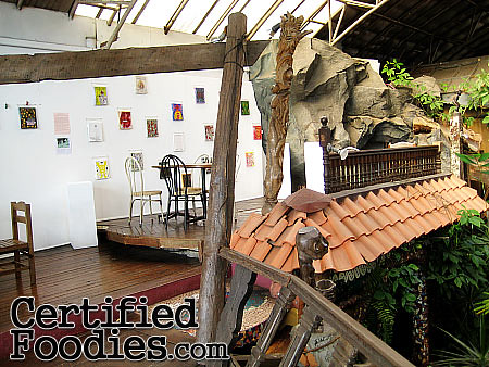 Still on the second floor dining area of Oh My Gulay - CertifiedFoodies.com