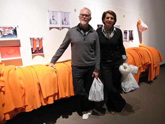Bill Pechet and Stephanie Robb
