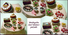 Saint Valentine's pink table