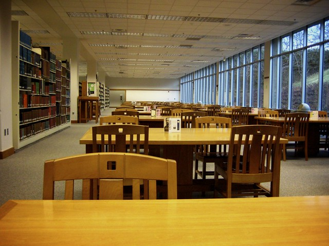 Quiet in the Library