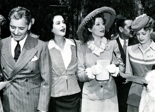 Ronald Colman, Hedy Lamarr, Greer Garson and Virginia Gilmore