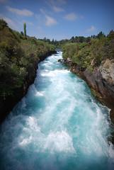 Huka Falls Upstream (timmelm) Tags: blue sky water river landscape hukafalls sigma1020 herowinner