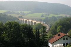 Viaduct Altenbeken (Ervanofoto) Tags: canon germany deutschland eisenbahn railway zug trains db viaduct bahn allemagne trein duitsland spoorwegen treinen züge gleis altenbeken nordrhreinwestfalen noordrijnlandwestfalen ervanofoto