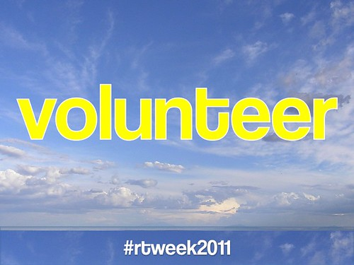 Volunteer: Responsible Tourism Week #rtweek2011