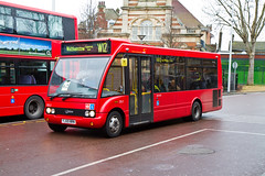 CT Plus OS2 (YJ59NRN) at Walthamstow_2 (2E0MCA) Tags: red england bus london solo walthamstow optare canonefs1755mmf28isusm ctplus canoneos7d