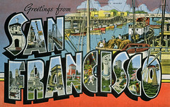 Greetings from San Francisco, California - Large Letter Postcard (Shook Photos) Tags: sanfrancisco california linen postcard postcards greetings linenpostcard sanfranciscocalifornia bigletter largeletter largeletterpostcard linenpostcards largeletterpostcards bigletterpostcard bigletterpostcards