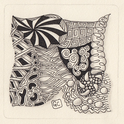 Zentangle name challenge