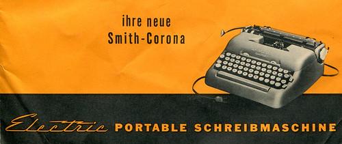Smith-Corona Electric manual
