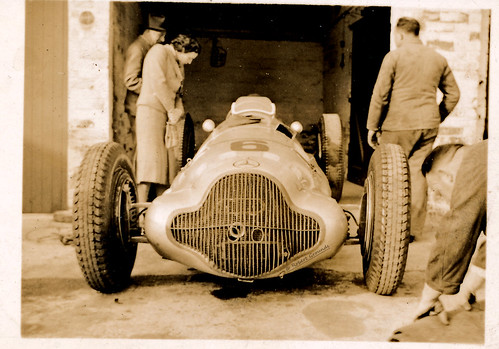Mercedes Benz W154 - Manfred von Brauchitsch - 5th Donnington GP 22 Oct 1938