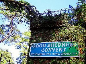 Good Shepherd Convent in Gibraltar Road, Baguio - CertifiedFoodies.com
